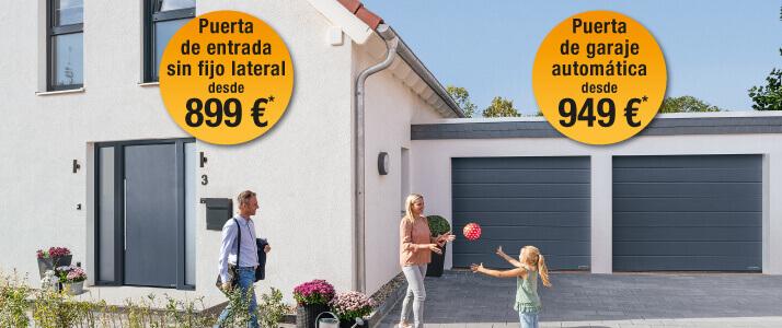 Ofertas promocionales que le convencen con seguridad Puertas del n.º 1 en Europa a un precio especial
